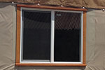 Operable sliding window